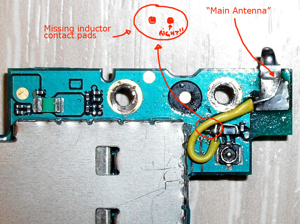 2) on the front of the logic board, you have to solder like this picture